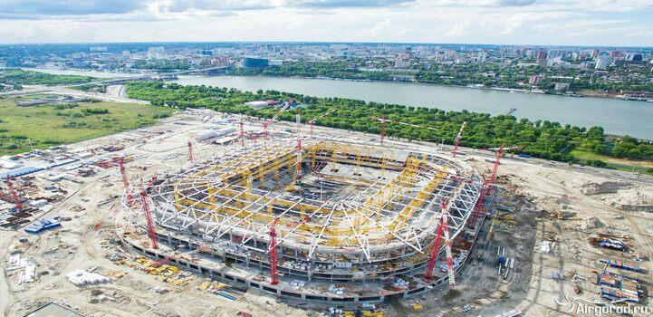 Проект строительства стадиона «Ростов-Арена» к ЧМ 2018 г.